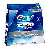 Crest 3D No Slip Whitestrips Dental Whitening Kit Supreme Flexfit - 21 Treatments