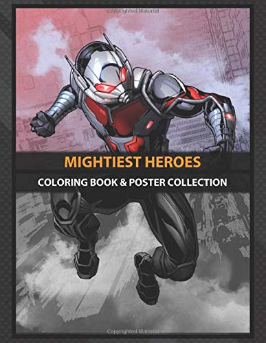 Coloring Book & Poster Collection: Mightiest Heroes Highquality Metal From Amazing Marvel Comics Col Comics