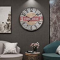 家庭用品壁掛け時計ヨーロピアンスタイル壁掛け時計ファッションクリエイティブリビングルームミュート寝室時計雰囲気アートパーソナリティレストラン装飾時計C50CM