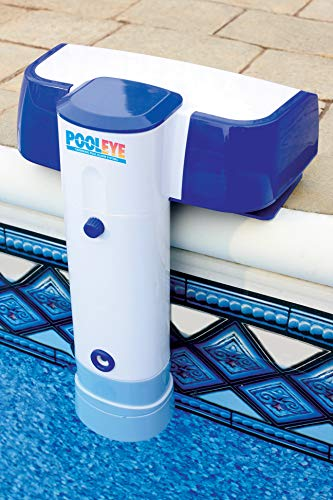 PoolEye Pool Immersion Alarm – Battery Powered Water Sensor Alarm with Remote Receiver, For Inground/Aboveground Pools up to 18' x 36' – ASTM Compliant Water Motion Sensor for Pool Safety, PE23