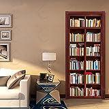 3D antica libreria porta Creativo vignetta autoadesiva adesivo...