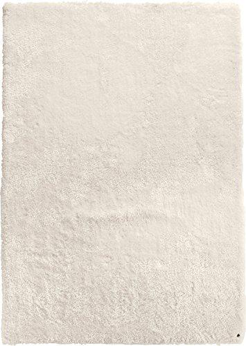 Tom Tailor Teppich handgetuftet weiß Größe 100x100 cm
