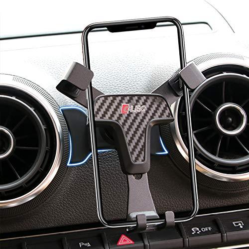 HIGH FLYING Handyhalterung Auto Handyhalter für Q2 SQ2 2016-2020 (Kohlefaserfarbe)