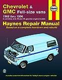 Chevrolet & GMC full-size petrol vans (1968-1996) Haynes Repair Manual (USA)