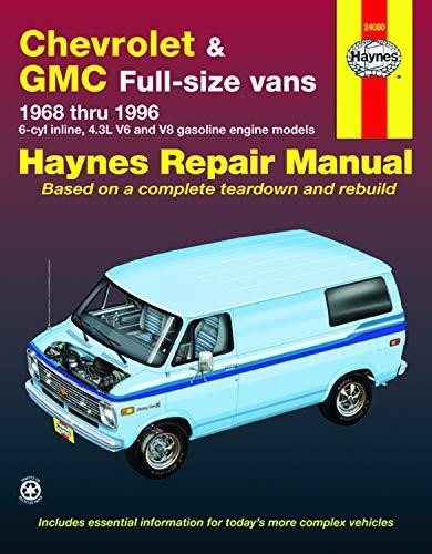 Chevrolet & GMC Full-size vans 1968 thru 1996 (Haynes Manuals)