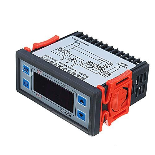 ILS – XD-W200 24 V Pantalla Digital Inteligente regulador...
