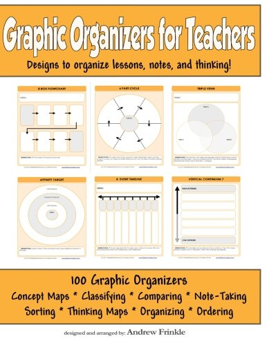 Compare Textbook Prices for Graphic Organizers for Teachers: Designs to Organizer Lessons, Notes, and Thinking! Classroom Tools Volume 5 First Edition Edition ISBN 9781516994397 by Frinkle, Andrew