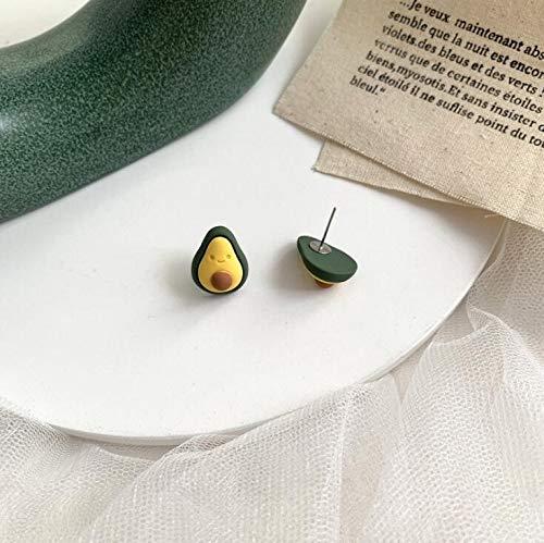 ZNXHNDSH Retro grüne Ohrringe Personality Herz Avocado Blumen-Dinosaurier-Legierung Bolzen Ohrringe Modeschmuck Großhandel (Color : J 10)