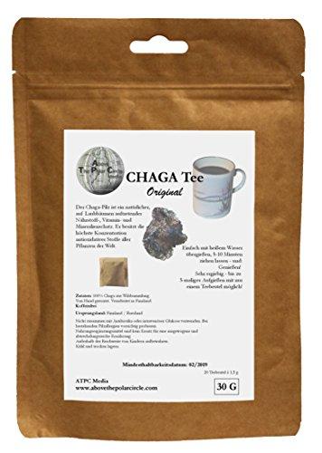 Chagapulver im Teebeutel Original