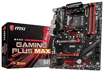 MSI Performance Gaming AMD Ryzen 2ND and 3rd Gen AM4 M.2 USB 3 DDR4 DVI HDMI Crossfire ATX Motherboard  B450 GAMING PLUS Max