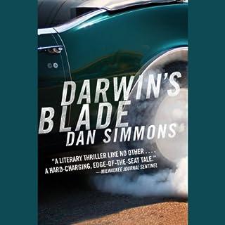 Darwin's Blade audiobook cover art