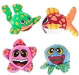 Splash Tiere für den Pool Wasserball oder Wasserbombe soft 4 Tiere