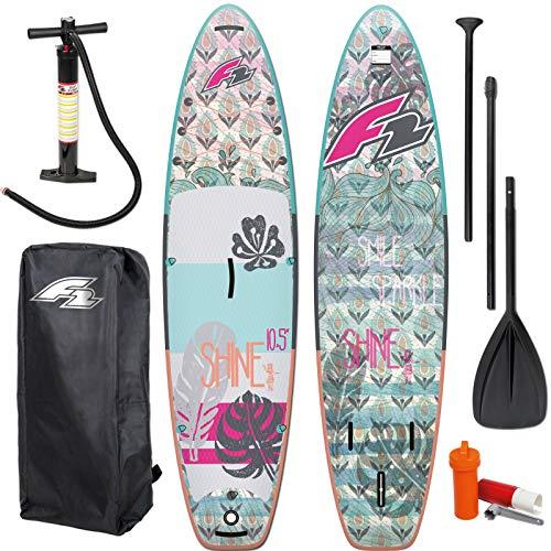 F2 SUP Shine 2021 - Tabla de surf de remo, hinchable, para mujer