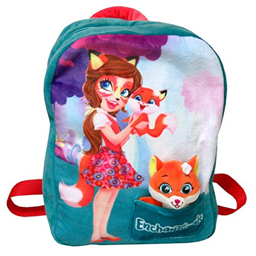 C Y P Mochila con Mascota de Peluche Felicity Fox - Enchantimals MC-101-EN