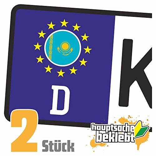 Kasachstan Kennzeichen Aufkleber Sticker Nummernschild Land Country Nation