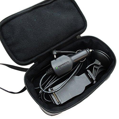Khanka PU leather Universal Carry Travel Carrying Case Bag Cover For All Garmin Nuvi / TomTom 3.5' 4.3' 5' Inch 5-inch GPS Navigators Sat Nav Models
