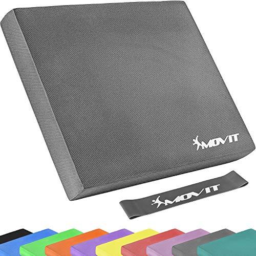 Movit® Balance Pad Sitzkissen grau mit Elastic Tapes