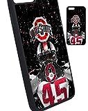 Ohio State iPhone 7 Case, iPhone 7 Plus, iPhone 8, iPhone 8 Plus Case, Ohio State iPhone x xs, iPhone Xs Max, iPhone 5/5s, iPhone 6/6s, iPhone 6 Plus Silicone Case TPU #10 (iPhone X/XS)