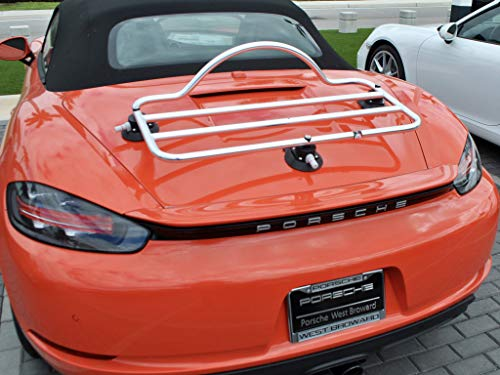 Boxster 718 Luggage Rack Unique Design : Revo-Rack PA