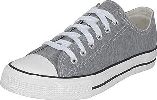 S-3 Women's Low Top Classic Canvas Fashion Sneaker