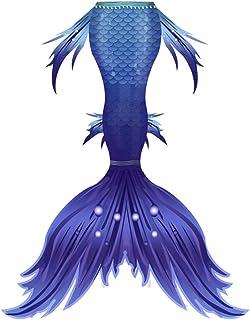 ACD Bañador niña Cola de Sirena Niñas con Princesa Sirena Cola De Sirena Hacer Realidad Tus Sueños De Sirena (Color : Purp...