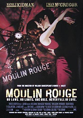 Close Up Moulin Rouge Poster, Affiche (68cm x 98cm) + 2 tringles Noires avec Suspension