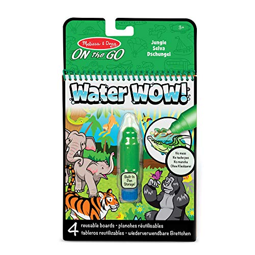 Melissa & Doug Water Wow! Malblock - Urwald