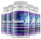 (5 Pack) Official Vision 20 - Advanced Formula, 5 Bottle Package