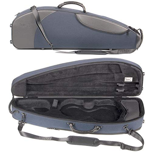 Bam France Classic 5003S Shaped 4/4 Violin Case with Blue Exterior