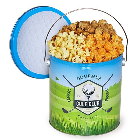 Golf Popcorn Tin Mix Portland Mall Traditional Super intense SALE -