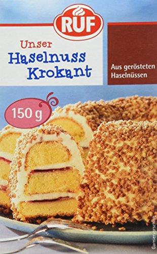 RUF Haselnuss-Krokant geröstete Haselnüsse karamellisiert, 1 x 150 g