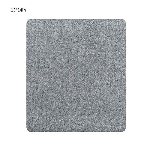 xbwwt 100% neuseeländische Wollbügelmatte, Quilten eines tragbaren Bügelpads, großes/mittleres/kleines Bügelbrett, geeignet zum Quilten von Kleidung auf Reisen (Modell optional)