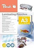 Peach Laminating Pouches A3, 125 Mic, PP525-01, 100-pack