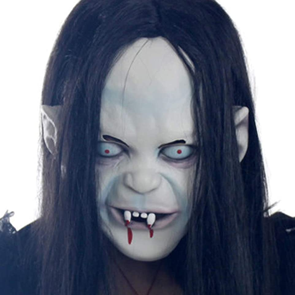 追放血統ぼかすマスク、ハロウィーンマスク、ミラーマスク、魔女マスク、いたずらに使用することができます,Three