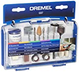 Dremel 687 Multipurpose Set, Accessory Kit with 52 Rotary Tool Accessories