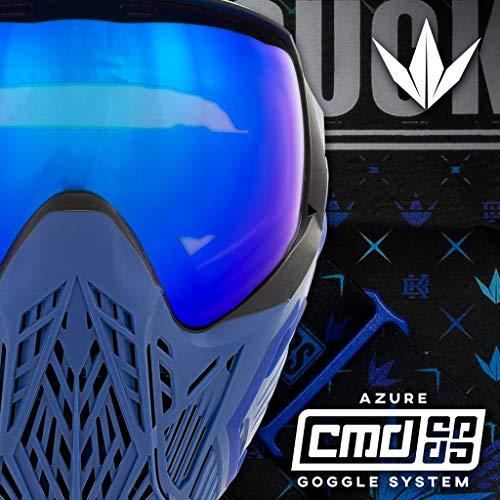 BunkerKings BK Maske CMD Command - Blue Azure