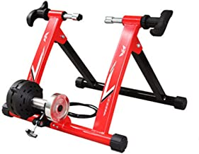 Pudincoco Profesional Druable Turbo Trainer Magnetic Indoor Bike Trainer Route VTT Sac De V/élo avec Capacit/é De Poids Max 120kg