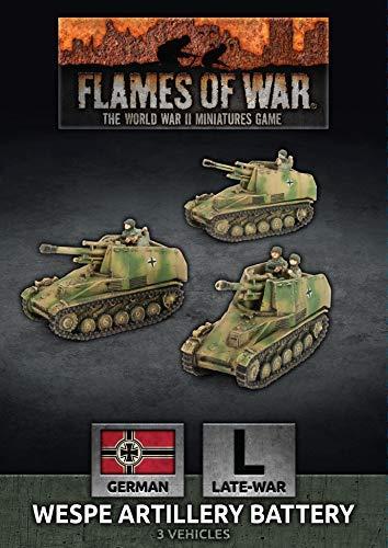 Flames of War: Late War: German: Wespe 10.5cm SP Artillery Battery (GBX155)