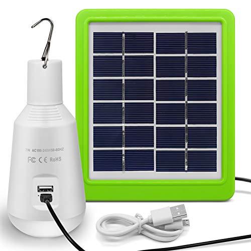 ソーラーパネル LED 屋外 ソーラーランタン 充電式 キャンプライト ソーラー電球 アウトドアライト テントライト LED 電球 モバイルバッテリー懐中電灯 非常灯 災害灯 地震の台風対策