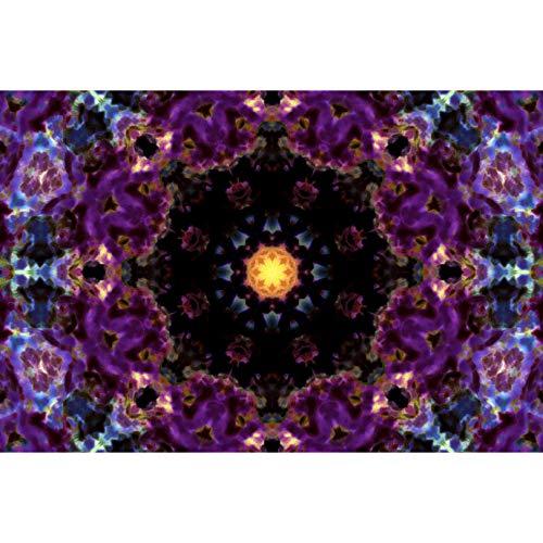 CXCF Puzzle Mandala Dark Puzzles Dekoration Dekompression Kollektion Romantisches Geschenk - 60633(Size:300 pc)