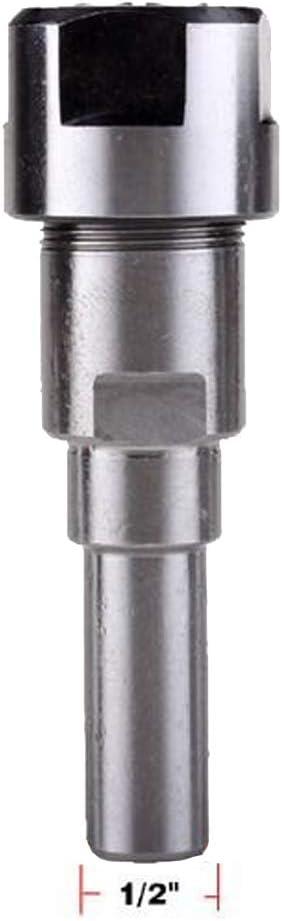 12 mm Bohrer Router Collet Verl/ängerungsstange Trimmen Graviermaschine Chuck Halter Adapter F/ür 8mm Schaft Holzbearbeitung Fr/äser