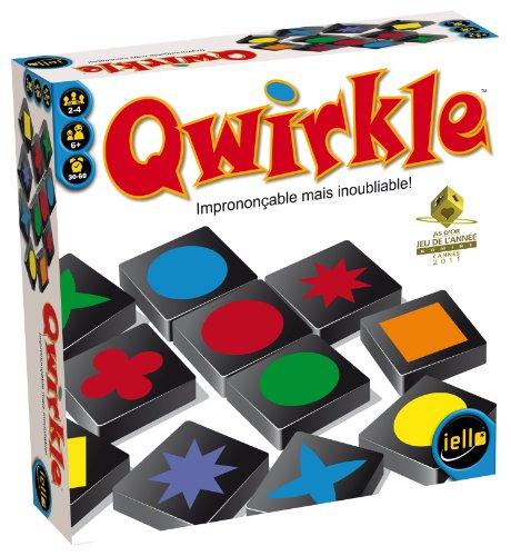 Unbekannt iello Tash–51005–Brettspiel–Qwirkle (Französische Version)