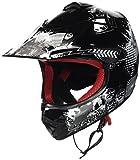 "ARMORHELMETS AKC-49 ""Black"" · Kinder-Cross-Helm · Motorrad-Helm MX Cross-Helm MTB BMX..."