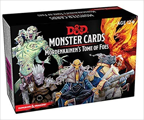 Dungeons & Dragons Spellbook Cards: Mordenkainens Tome of Foes (Monster Cards, D&D Accessory)