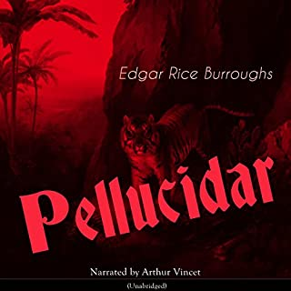 Pellucidar audiobook cover art