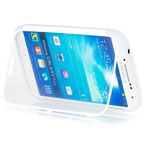 Samsung Galaxy S4 | iCues táctil TPU | Caso duro al Air libre grueso a prueba de golpes 360 grados Pantalla de cuerpo completo ronda los dos lados completan frente de silicona de gel de doble protección delantera y trasera  Cubierta Funda Carcasa Bolsa Cover Case