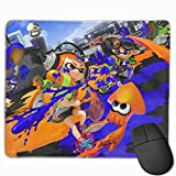 Spla-toon War Gaming Mouse Pad Unique Computer Mousepad Non-Slip Rubber Mouse Mat for Home Office