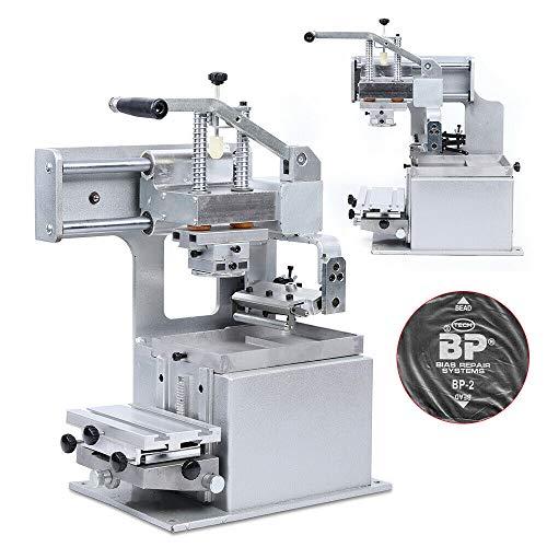 Purchase TFCFL Manual Ink Well Pad Printer,Pad Printing Machine,Label Logo DIY Transfer 65x65mm/ 2.6...