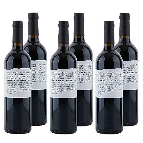 KERNenergie Qualitätswein in Großpackung GARNACHA CABERNET SAUVIGNON (6 x 0,75l) | Spanische Rotweine aus dem Priorat
