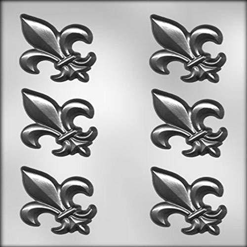 CK Products 3-Inch Fleur De Lis Chocolate Mold